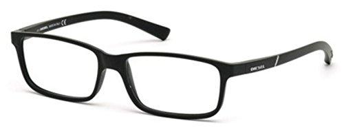 DIESEL Eyeglasses DL5179 002 Matte Black
