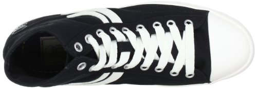 Es 12064557 - Zapatillas de tela para hombre Multicolor (Mehrfarbig (BLACK))