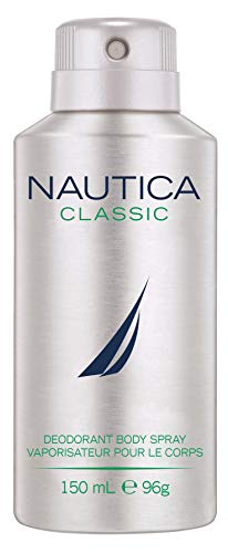 Nautica Classic Deodorant Body Spray for Men, 150 ml 2021 July