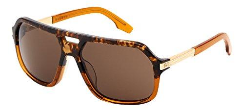 IVI Hunter 08813-902 Aviator Sunglasses, Double Horn, 59 - Zeiss Aviator Sunglasses