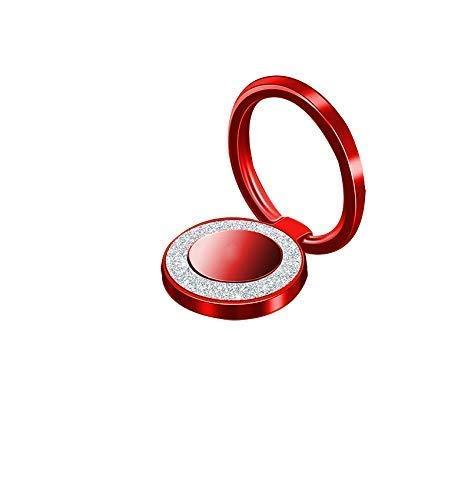 Glitter Bling Bling Phone Ring Holder,Sparkle Phone Ring Kickstand, Cell Phone Finger Ring Grip for Almost All ()