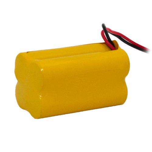 LFI Lights - Emergency Light NiCad Battery AA 4.8V 700mAh - Nickel Cadmium - BAA48R