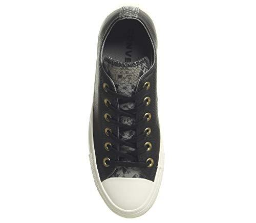 egret Ctas Femme Chuck Ox Multicolore black 001 Basses Sneakers Taylor mason Converse F1RvF