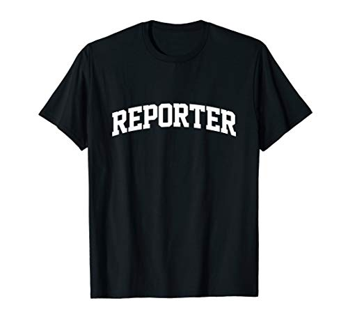 Reporter Job Uniform Costume Funny