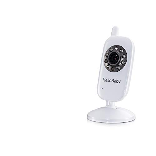 Wireless HelloBaby Extra Camera for Video Baby Monitor, Baby Unit Add-on Camera for HB24 HB32, NOT Compatible with HB65 and HB248 Video Baby Monitor