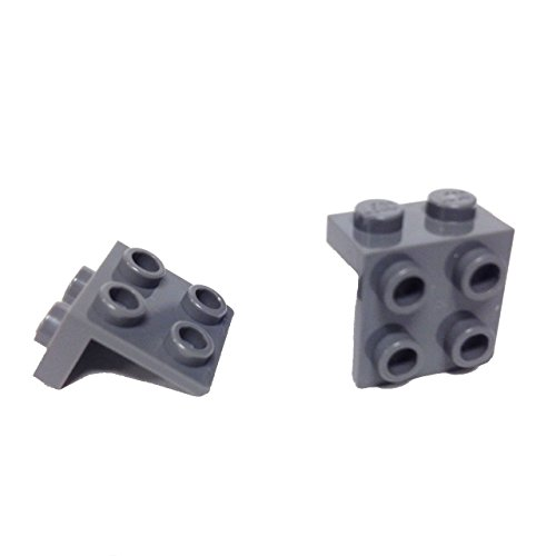 Lego Parts: Bracket 1 x 2 - 2 x 2 (PACK of 2 - - Lego Hobbit With Spiders Sets The