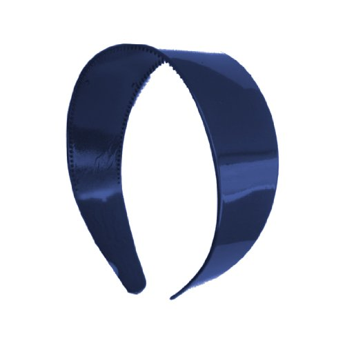 2 Inch Wide Hard Plastic Headband with Teeth Hair band (Keshet Accessories)