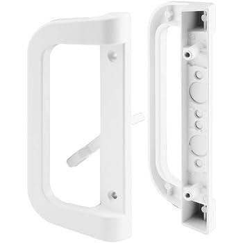 Prime Line Products C 1177 Sliding Door Handle Set White