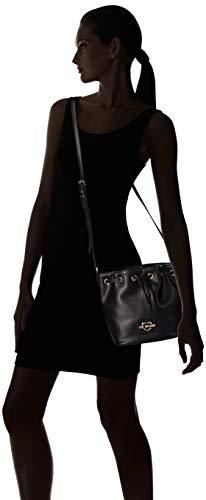w Centimeters Bolso Mujer Moschino Para Love H Pu Calf X L nero Negro Bandolera 15x10x15 qPRv1w