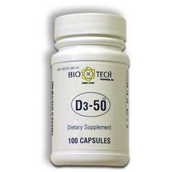 Bio-Tech D3-50 50.000 UI 100 Caps