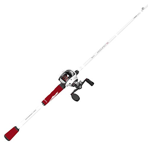 Quantum Accurist S3 PT Baitcast Reel and Fishing Rod Combo, 6-Feet 10-Inches Medium-Heavy, 7.0:1, Right Hand, Size 100