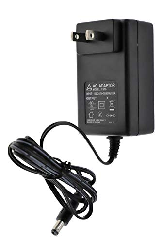 AHRMA [UL Listed] AC/DC Adapter Compatible with SatLink WS-6902 WS-6905 WS-6906 WS-6908 WS-6909 WS-6912 WS-6936 WS-6922 WS-6918P LCD Professional Digital Satellite Finder Signal Meter Power Supply