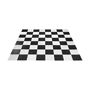"""MegaChess Giant Plastic Chess/Checker Board with 14"""" Squares"""