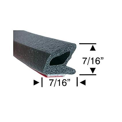 Amazon com: RV Compartment Door Seal - Peel-N-Stick Sponge Rubber