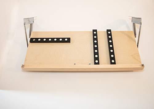 - Under Cabinet Knife Block - Large Shown - 3 Sizes Available & 5 Finishes (X-Large, Unfinished)