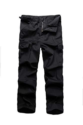 BACKBONE Boys Girls Kids Combat Army Ranger Camping Outdoor camo Cargo Pants Trousers (Size S = Waist 26