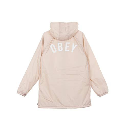 Kenna m Pink Hooded Obey Coach's Women's Jacket vqw770Tx