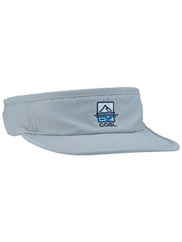 Coal Visor (Coal Men's the Vista Upf Athletic Visor with Adjustable Webbing Closure, Grey, One SIze)