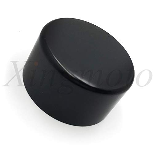 NBX- Replacement of For Compatible with 2010-2014 Chevrolet Camaro BILLET windshield WASHER FLUID RESERVOIR CAP Black ()