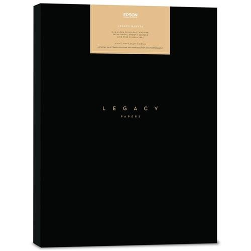 S450099 - Epson 17 x 22 In. Legacy Baryta Paper - 25 Sheets