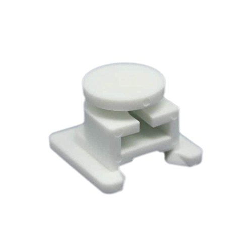 Maytag W12603701 Refrigerator Crisper Drawer Cover Support Post Genuine Original Equipment Manufacturer (OEM) part for Maytag, Amana, Kenmore Elite, Whirlpool, Jenn-Air, Kenmore, Kitchenaid, Crosley