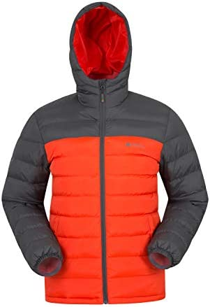 Mountain Warehouse Season Mens Padded Jacket Water Resistant Jacket, Lightweight, Warm, Lab Tested to 30C, Microfibre Filler for Winter