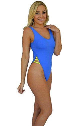 beaa2071e5 Brigitewear Breezy Sheer when wet One Piece Swimsuit - Import It All
