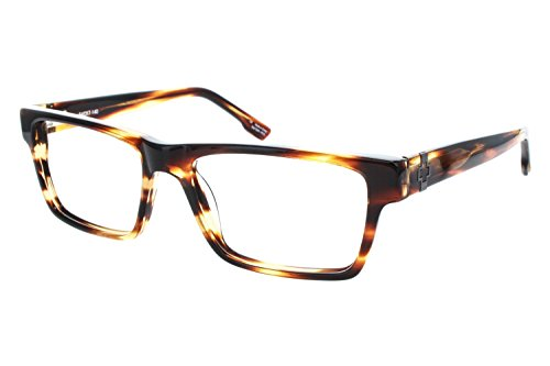 Spy Drake Rectangular Eyeglasses,Cuban Smoke,54 (Spy Optic Drake Eyeglasses)