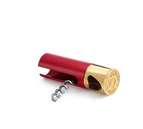 Big Sky Carvers Big Shot 12 Gage Magnum Shotgun Shell Corkscrew Beer Bottle Opener Wine Opener Skeet
