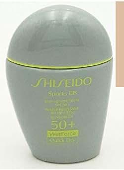 Shiseido Sports BB SPF 50+ (Light) 30ml / 1oz WetForce Quick Dry Water Resistant (80 mins) Sunscreen