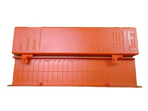 Siemon Company Siemon Company 66 Block HINGED Cover Orange - G4-MC4LH9