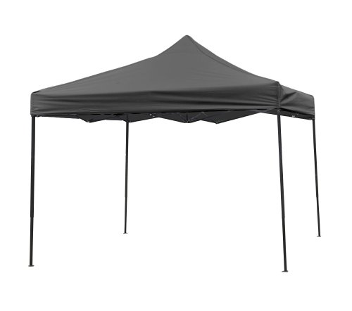 Trademark Innovations Lightweight and Portable Canopy Tent Set – Black Canopy Cover