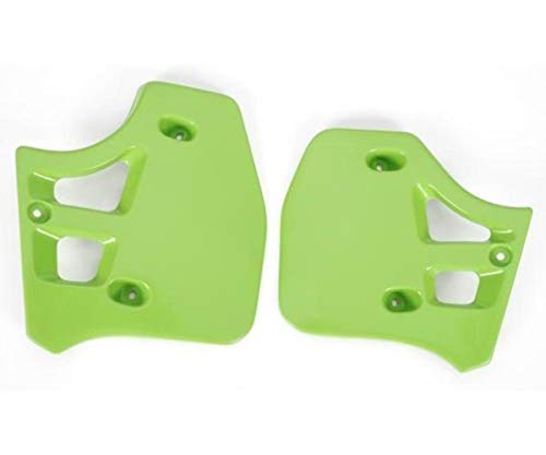 (Ufo Plastic s Radiator Cover Green for Kawasaki KX 250 500 88-02)