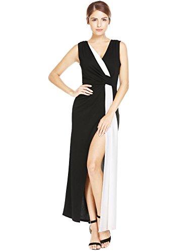 Jersey Pleated V-Neck Dress - 4