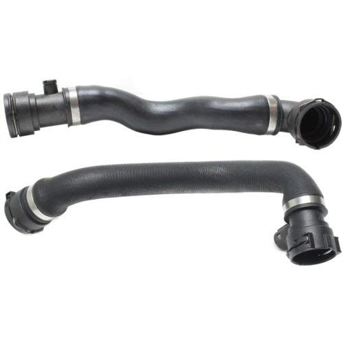 Radiator Hose Compatible with BMW 5-Series 1998-2003 3.0L Upper and Lower