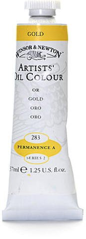 Winsor & Newton Artists' Oil Colours (Gold) 1 pcs sku# 1875077MA
