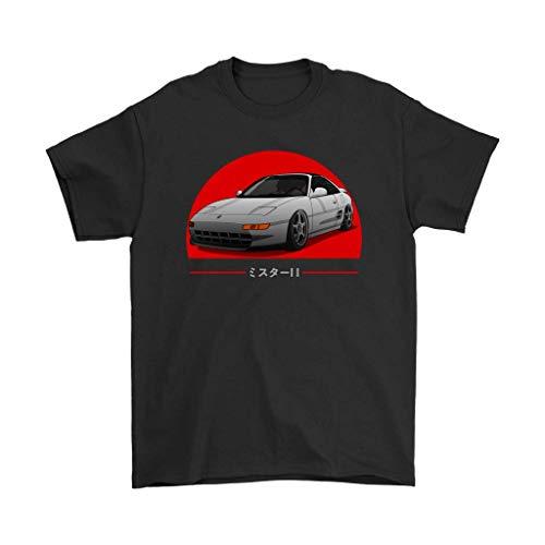 MR2 Toyota JDM Tuner TRD T-Shirt Black