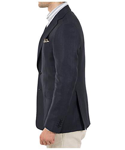 Ralph lauren linen blazer blue