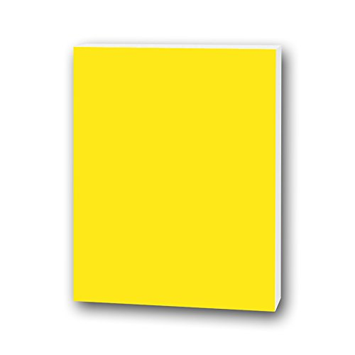 Flipside Foam Board, 3/16 by 20 by 30-Inch, Neon Yellow, 10 Per Package