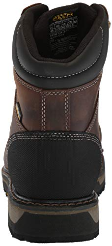 Men's Toe Industrial Black Oakland Utility KEEN Boot Waterproof Steel Chestnut xwTR5qqSp