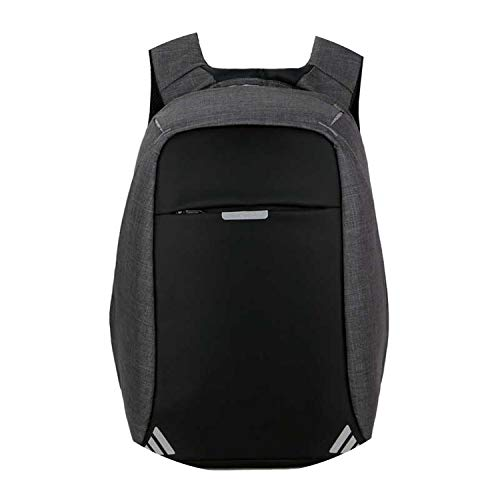pursuit-of-self Men Backpack Anti theft multifunctional Oxford Casual Laptop Backpack,Black B