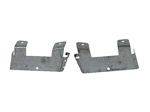 (Bundle 98-04 Chevy S10 Pickup /-05 Blazer Xtreme Front Bumper Support Bracke Set)
