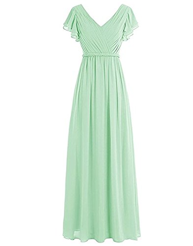 Beauty Damen Linie of Leader A the Kleid Mint wqfEx8U