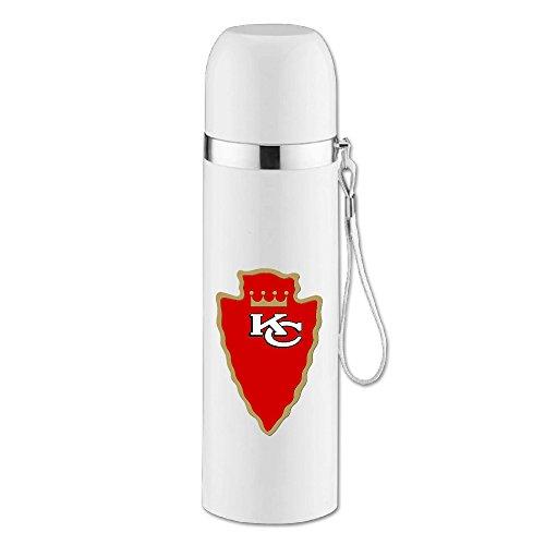FashionCutomize Kansas City KC Chiefoyals Arrow Bullet Vacuum Cup White