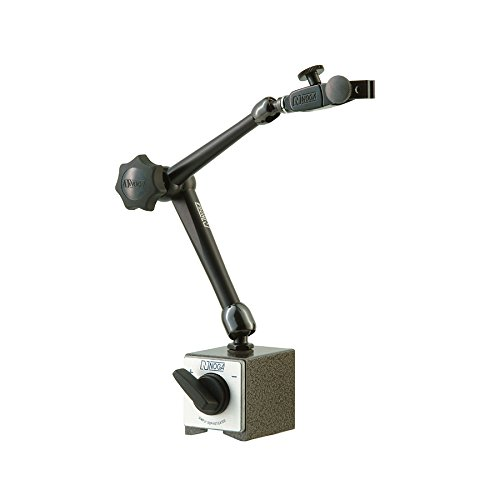 Dial Indicator Holders - NOGA Dial Gage Holder Magnetic Base - Model: DG61003 AUTO POWER: On/off mag.base HOLDING POWER: 176 Ibs Regular Duty