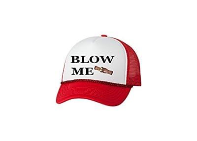 Rogue River Tactical Funny Hunting Hat Blow Me Duck Call Baseball Cap Retro Vintage Joke Trucker Hunt Hunter
