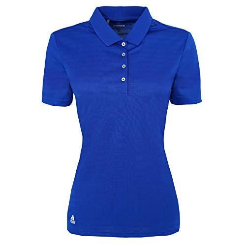 - adidas Golf Womens Micro Stripe Polo (A262) -Royal -S