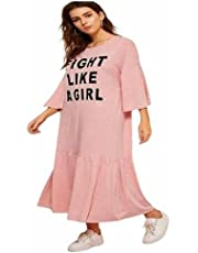 Multi Color Nightgown For Women