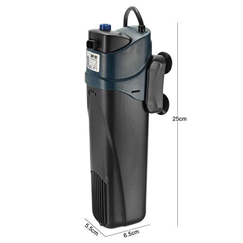 JUP-02 5W 220-240V/50Hz 500L/H UV Filtration Pump Submersible Pump Aquarium Fish Tank