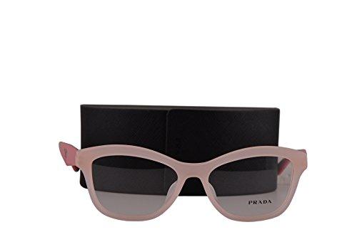 Prada PR29RVF Eyeglasses 54-17-140 Opal Pink UEW1O1 VPR29RF (FRAME+CASE - Pink Light Prada